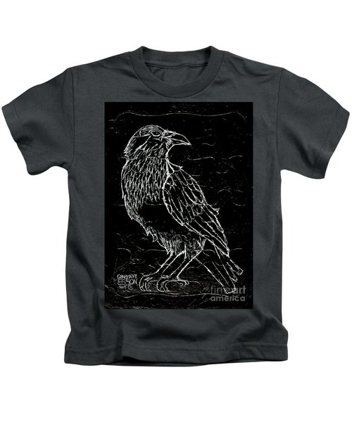 Black Raven Kids T-Shirt