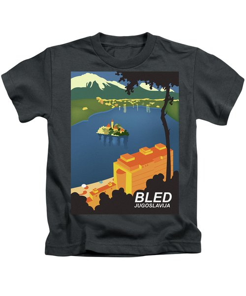 Bled Lake Kids T-Shirt