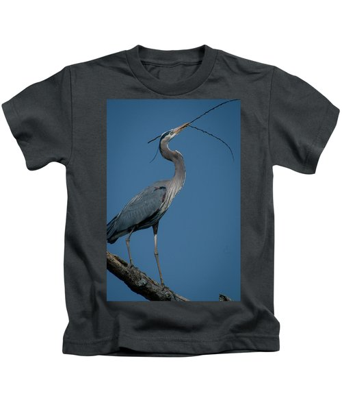 Blue Heron 2011-0322 Kids T-Shirt
