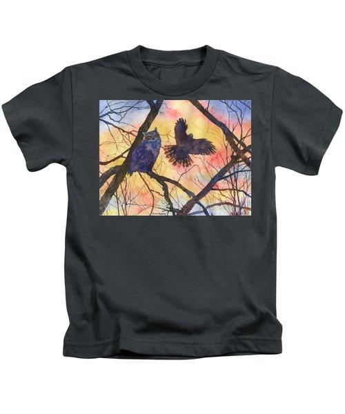 Blue Owl Kids T-Shirt