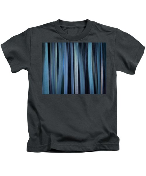 Blue Trees 1 Kids T-Shirt
