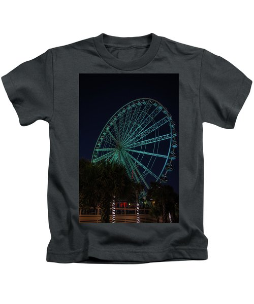 Blue Wheel Kids T-Shirt