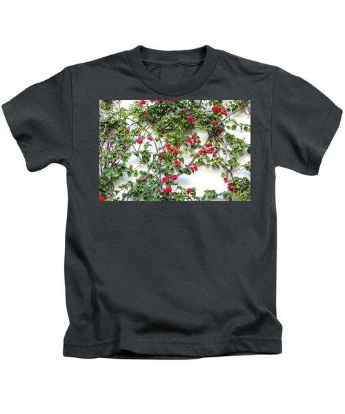 Blushing Blooms Kids T-Shirt