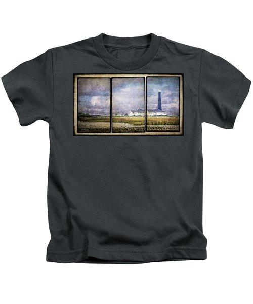 Bolivar Lighthouse Triptych 1 Kids T-Shirt