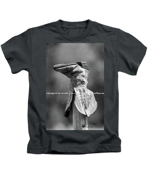 Boot Post Kids T-Shirt
