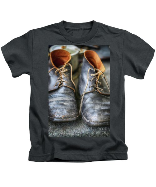 Boots Of Company H Kids T-Shirt