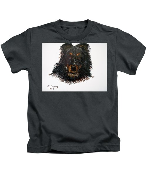 Border Collie Cross  Kids T-Shirt