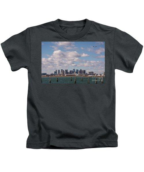 Boston Cityscape Kids T-Shirt