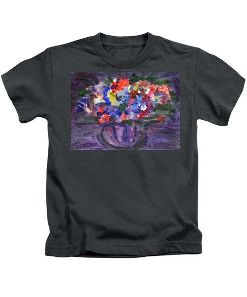 Bouquet In The Dark Kids T-Shirt