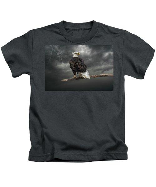 Braving The Storm Kids T-Shirt