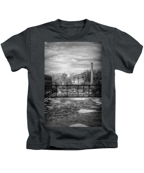 Bridge Over The Sugar River Kids T-Shirt