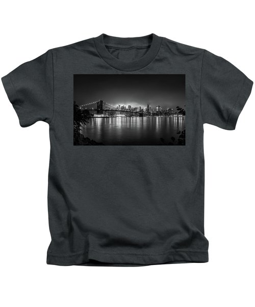 Bright Lights Of New York Kids T-Shirt