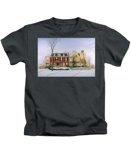 Broom Street Snow Kids T-Shirt