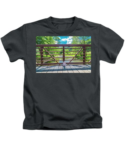 Bunny At The Greenbrier Golf Course West Virginia Kids T-Shirt