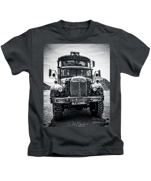 Burning Man Type School Bus Kids T-Shirt