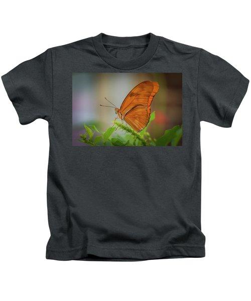Butterfly, Delicate Wings... Kids T-Shirt