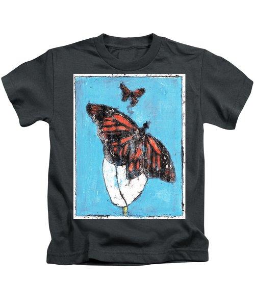 Butterfly Garden Summer 1 Kids T-Shirt
