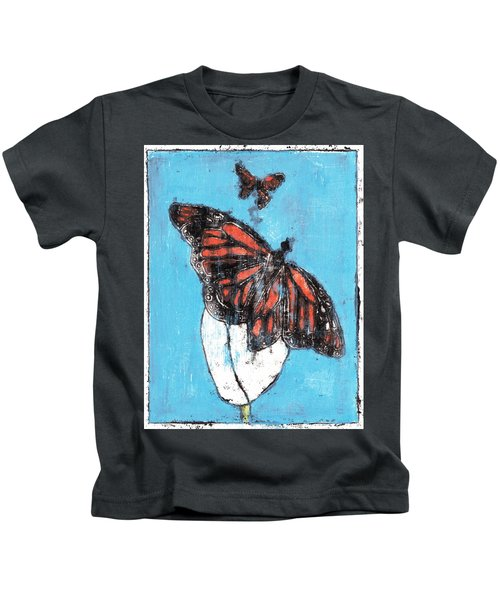 Butterfly Garden Summer 1 Kids T-Shirt
