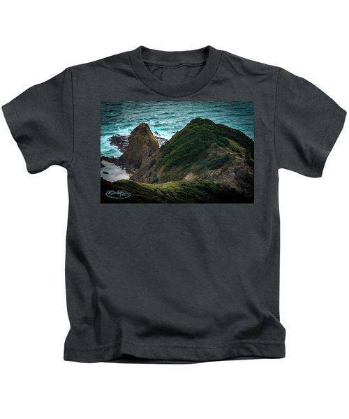 Cape Reinga And Kahika Kids T-Shirt