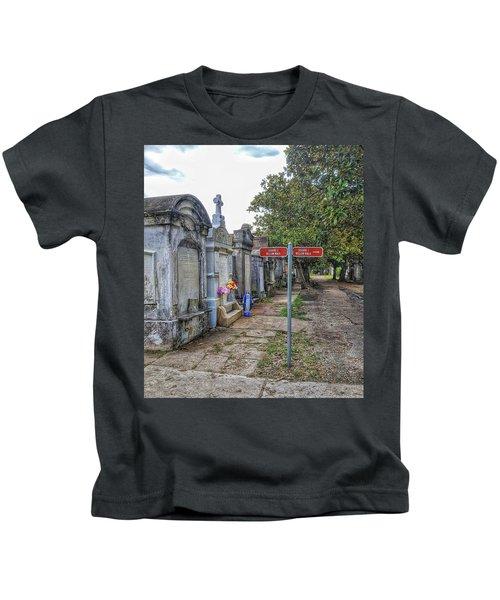 Cemetery #1 Kids T-Shirt
