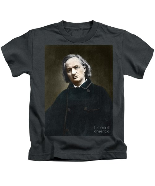Charles Baudelaire, French Poet, 1865 Kids T-Shirt