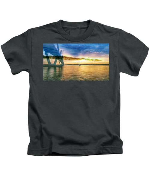 Charleston Harbor Sc Kids T-Shirt