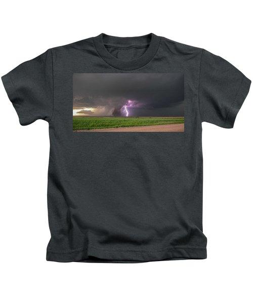 Chasing Naders In Nebraska 017 Kids T-Shirt