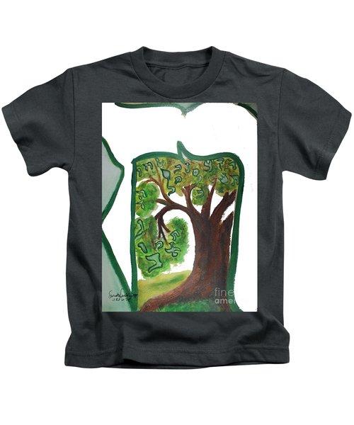 Chet, Tree Of Life  Ab21 Kids T-Shirt