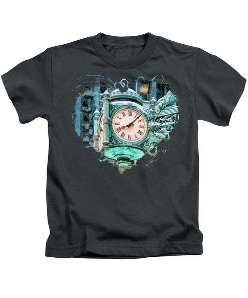Chicago Marshall Field State Street Clock Kids T-Shirt
