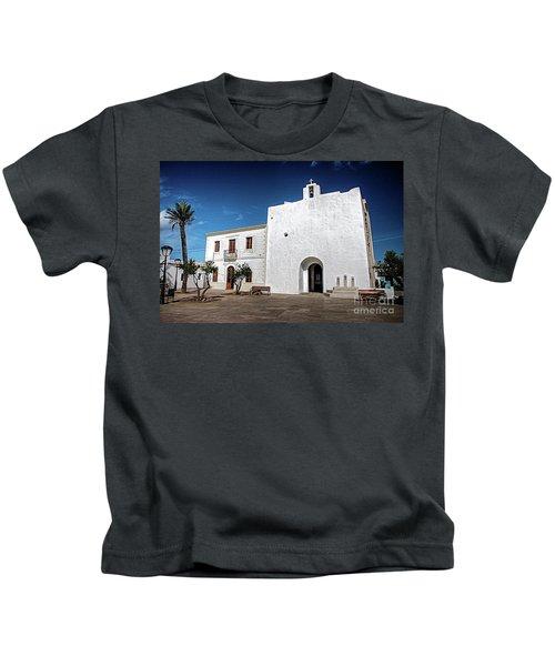 Church, San Francisco, Formentera Kids T-Shirt