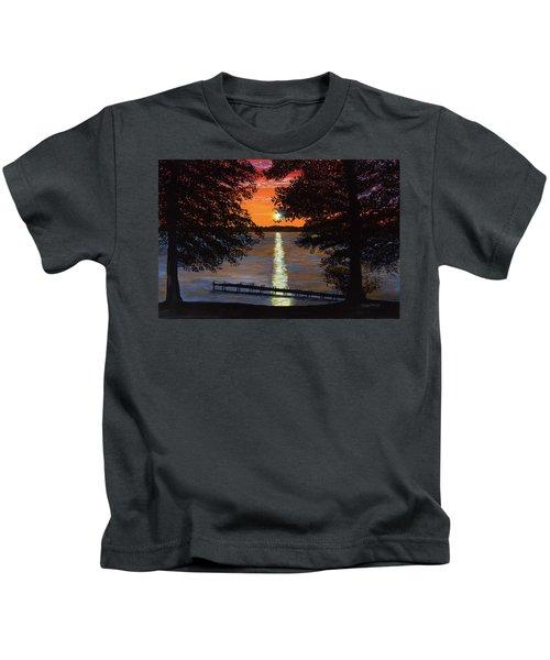 Cindy Beuoy - Lake Maxinkuckee Kids T-Shirt