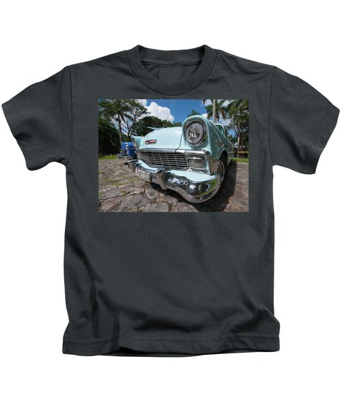 Classic Cuban Chevy Kids T-Shirt