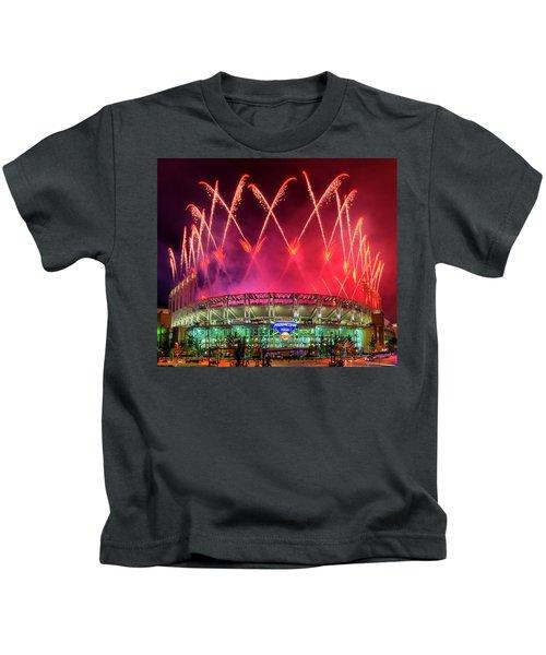 Cleveland Indians Fireworks Kids T-Shirt
