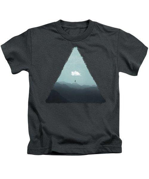 Cloud Gliding Kids T-Shirt