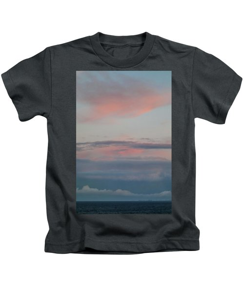 Clouds Over The Ocean Kids T-Shirt