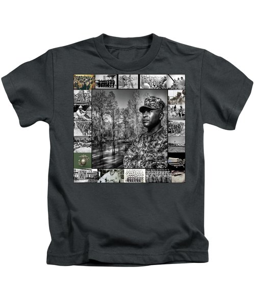 Colonel Trimble Collage Kids T-Shirt
