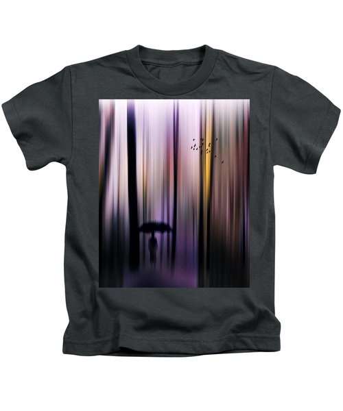 Colorful Forest Walk Kids T-Shirt