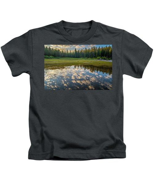 Colter Bay Reflections Kids T-Shirt
