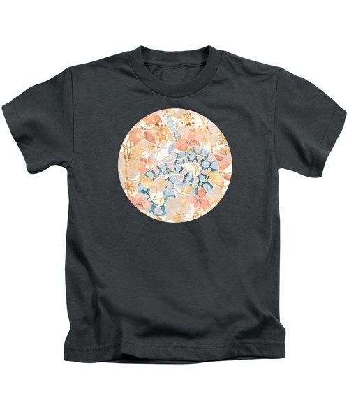 Coral Spring Garden Kids T-Shirt