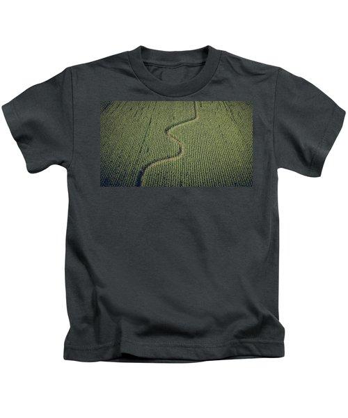 Corn Field Kids T-Shirt