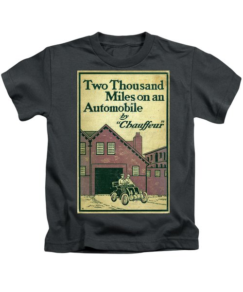 Cover Design For Two Thousand Miles On An Automobile Kids T-Shirt