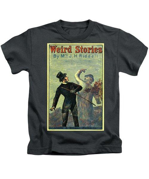 Victorian Yellowback Cover For Weird Stories Kids T-Shirt