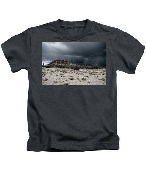 Cross On A Hill Kids T-Shirt