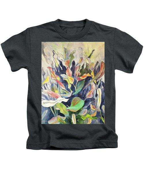 Croton Plant Kids T-Shirt