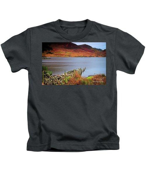 Crummock Water - English Lake District Kids T-Shirt