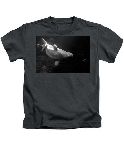 Curious Beluga Kids T-Shirt