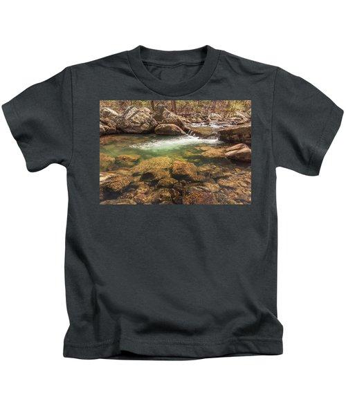Daniel Creek At Cloudland Canyon State Park Kids T-Shirt