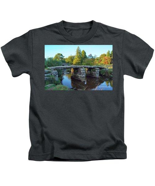 Dartmoor Clapper Bridge Kids T-Shirt