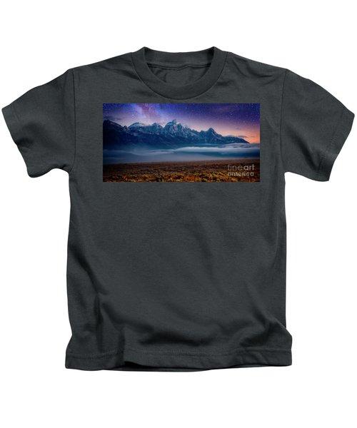 Dawn Breaks Kids T-Shirt