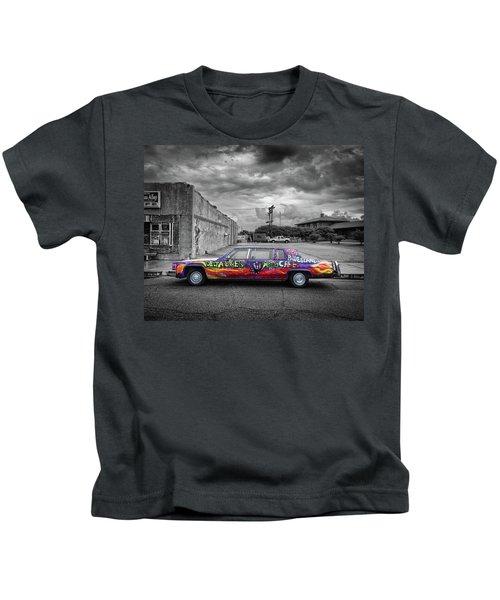 Delta Blues Limo Kids T-Shirt